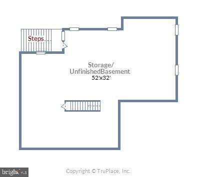 Lower Level Floor Plan - 1019 CURTIS PL, ROCKVILLE