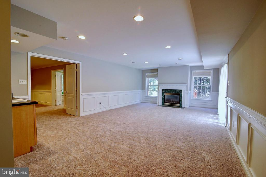 Basement w/ Fireplace - 21368 STURMAN PL, BROADLANDS