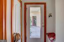 Door to covered walk way to 3 car garage - 20781 UNISON RD, ROUND HILL