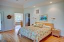 Main floor master bedroom - 20781 UNISON RD, ROUND HILL