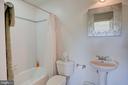 Full bath for bedroom 2 - 20781 UNISON RD, ROUND HILL
