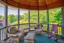Screened porch off the kitchen - 20781 UNISON RD, ROUND HILL