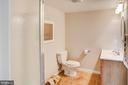 Lower level full bath - 20781 UNISON RD, ROUND HILL