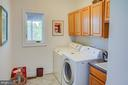 Laundry room located behind the kitchen - 20781 UNISON RD, ROUND HILL