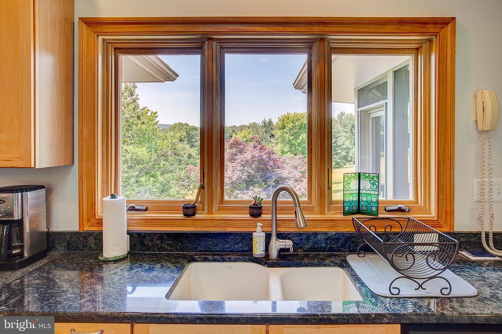 Kitchen window views! - 20781 UNISON RD, ROUND HILL