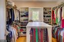 Master bedroom walk in closet - 20781 UNISON RD, ROUND HILL