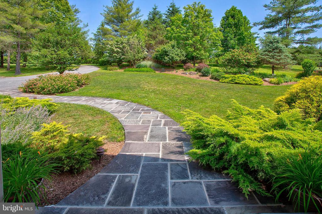 Walk way from house to driveway - 20781 UNISON RD, ROUND HILL
