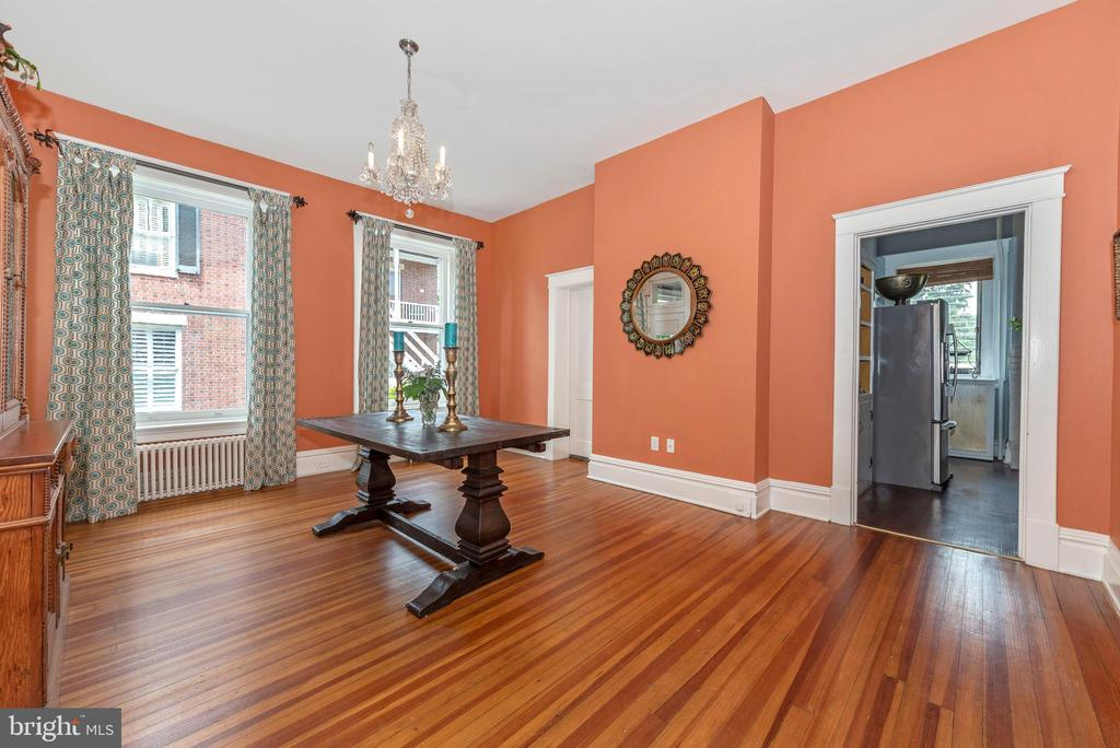 Enormous dining room w/easy flow for entertaining! - 203 ROCKWELL TER, FREDERICK