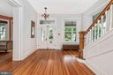 Transoms and architectural  detail throughout - 203 ROCKWELL TER, FREDERICK