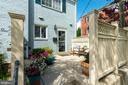 Private patio - 1485 N VAN DORN ST #A, ALEXANDRIA