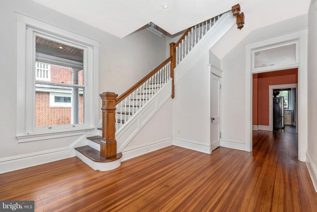 Gorgeous first level solid cherry wood flooring - 203 ROCKWELL TER, FREDERICK