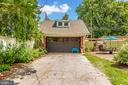 Two level carriage house/garage/studio w/woodstove - 203 ROCKWELL TER, FREDERICK
