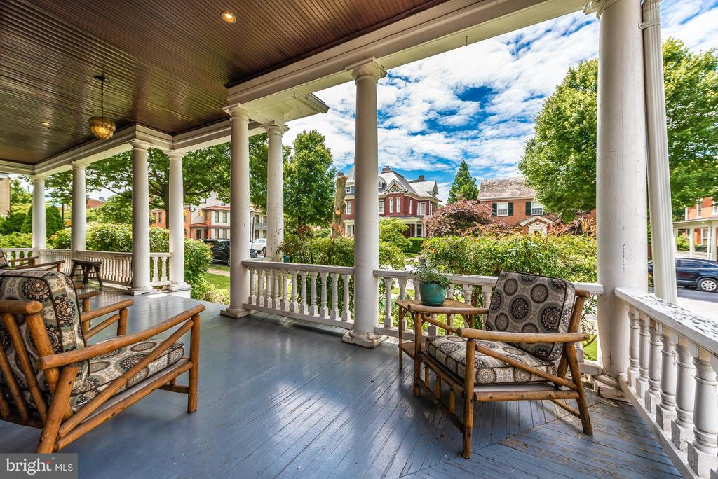 Imagine relaxing here on those beautiful evenings! - 203 ROCKWELL TER, FREDERICK