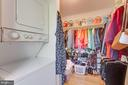 Owner's Suite  Convenient Stackable Washer/Dryer - 16 DOBE POINT RD, STAFFORD
