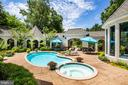 Pool complex with Spa - 909 MADISON ST, FREDERICKSBURG