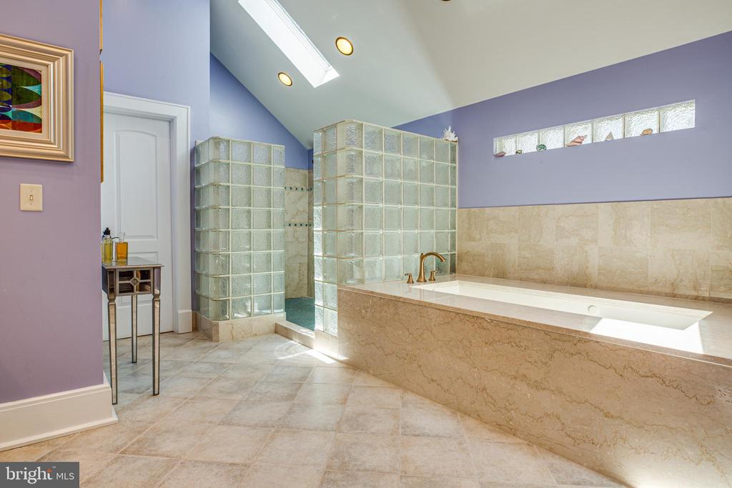 Master Bath with large walk in shower - 909 MADISON ST, FREDERICKSBURG