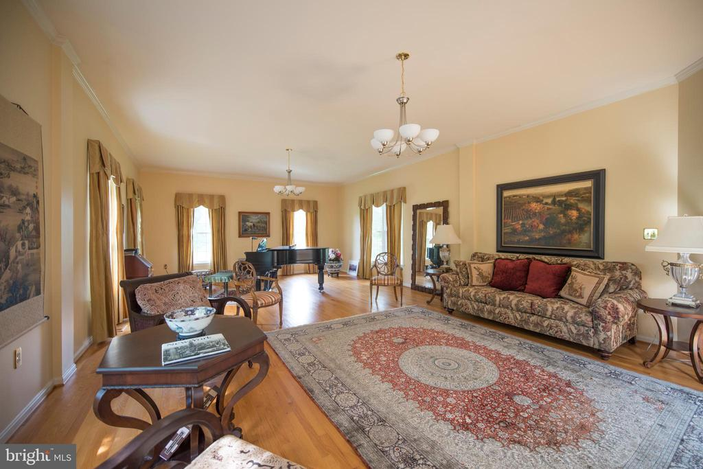 Living Room - 13517 HUNTING HILL WAY, GAITHERSBURG