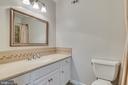 One of the two main floor full baths - 16332 HAMPTON RD, HAMILTON