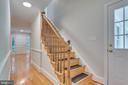 Staircase to private owners retreat - 16332 HAMPTON RD, HAMILTON