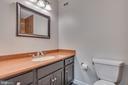Second full ba on main level tiled bath - 16332 HAMPTON RD, HAMILTON