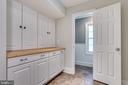 Mud room off kitchen - look at that storage! - 16332 HAMPTON RD, HAMILTON