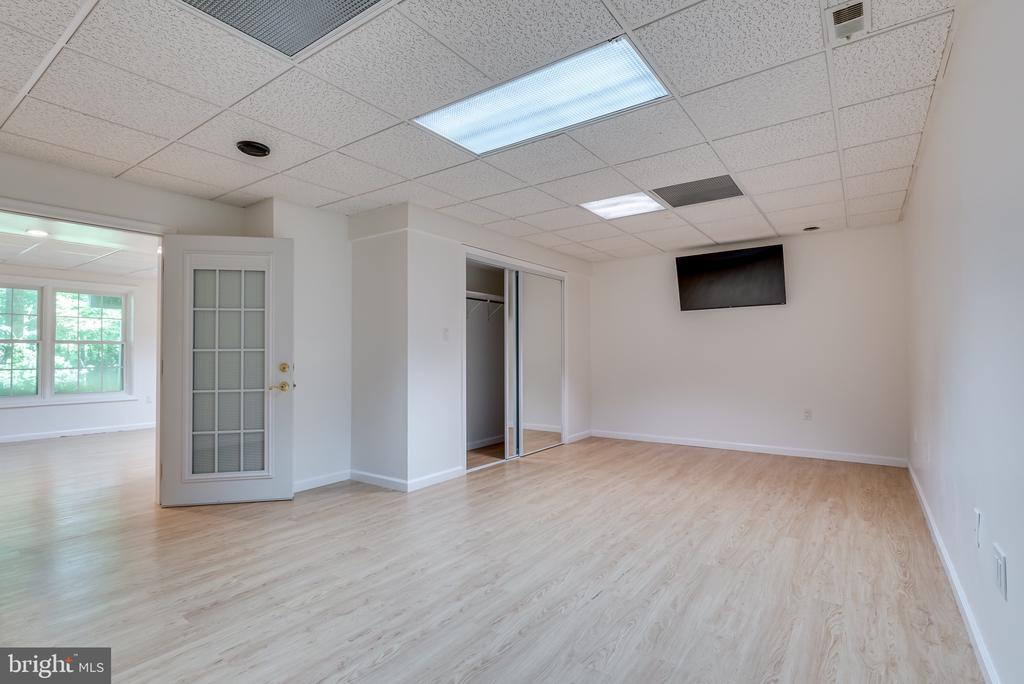 LL room, could be bedroom, exercise or media - 16332 HAMPTON RD, HAMILTON