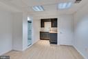 Kitchenette/bar area in basement - 16332 HAMPTON RD, HAMILTON