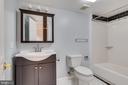 Lower level full bath - 16332 HAMPTON RD, HAMILTON