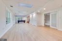 Lower level rec room - 16332 HAMPTON RD, HAMILTON