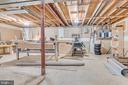 Unfinished space for storage / workshop - 16332 HAMPTON RD, HAMILTON