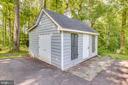 Storage shed - 16332 HAMPTON RD, HAMILTON