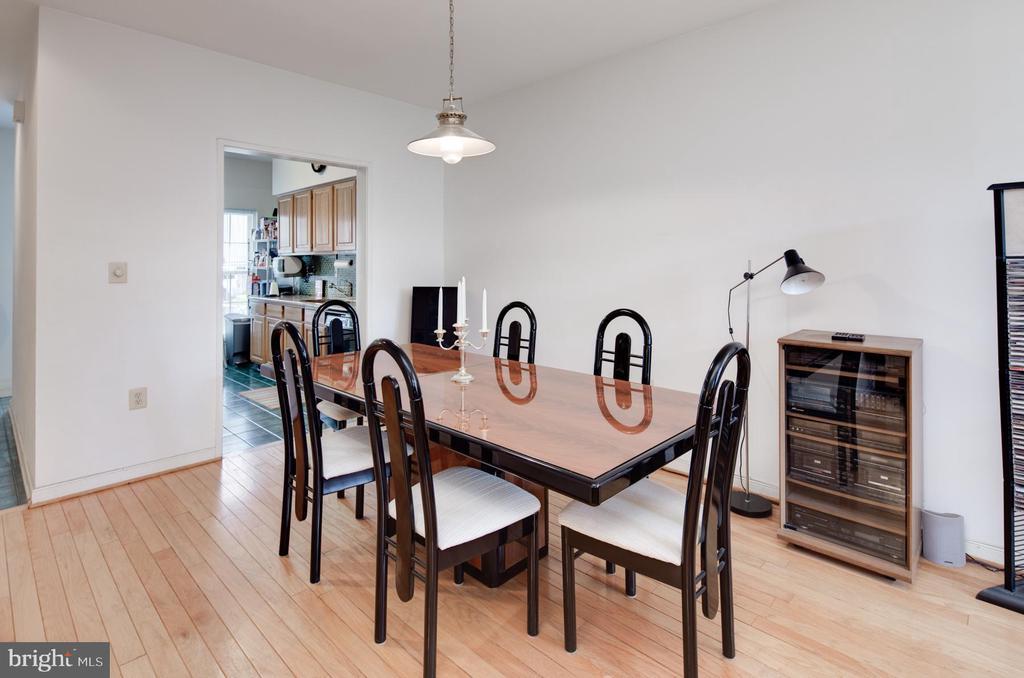 Dining Area - 3737 CASSELL PL NE, WASHINGTON
