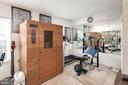 2nd Level Bedroom (being used as home gym) - 3737 CASSELL PL NE, WASHINGTON