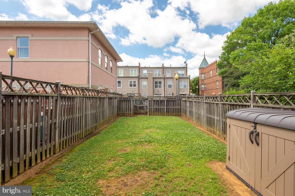 Spacious Yard - 3737 CASSELL PL NE, WASHINGTON