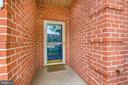 FRONT DOOR & PORCH - 305 SUNBROOK LN #91, HAGERSTOWN