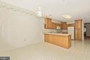 TABLE SPACE IN KITCHEN - 305 SUNBROOK LN #91, HAGERSTOWN