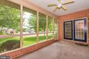 SCREENED IN PORCH FOR SUMMER NIGHTS - 305 SUNBROOK LN #91, HAGERSTOWN