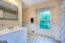 Full hall bath is shared by BR #4 and BR#5 - 5912 ONE PENNY DR, FAIRFAX STATION