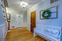 Hardwood floors throughout main level - 5912 ONE PENNY DR, FAIRFAX STATION