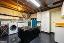 HUGE laundry room with built-in storage! - 5912 ONE PENNY DR, FAIRFAX STATION