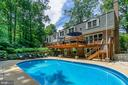 Imagine the summer days entertaining poolside! - 5912 ONE PENNY DR, FAIRFAX STATION
