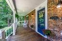 Quintessential front porch perfect for rockers! - 5912 ONE PENNY DR, FAIRFAX STATION
