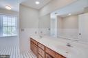 Master Bath with Spacious Double Vanity and Water - 111 NAUTICAL CV, STAFFORD