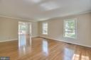 Living Room with Glowing Hardwoods - 111 NAUTICAL CV, STAFFORD