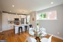 Kitchen and Dining room - 45 MADISON ST NW, WASHINGTON