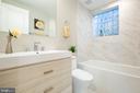 full bathroom #3 - 45 MADISON ST NW, WASHINGTON