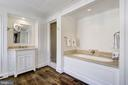 His & Her Master Baths - 2728 32ND ST NW, WASHINGTON