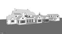 Rear Angled Elevation of Home and Carriage House - 8191 PETERS RD, FREDERICK