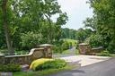 Beautiful Stone Front Entrance to Greer's Landing - 8191 PETERS RD, FREDERICK