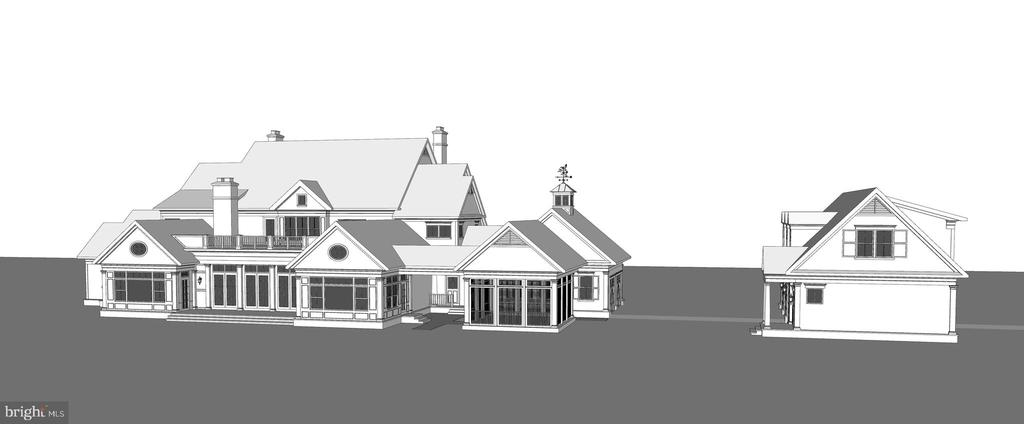 Another Rear Elevation - 8191 PETERS RD, FREDERICK